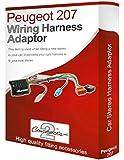 Peugeot 207 CD, radio stéréo Câble adaptateur ISO câble convertisseur Métier à Tisser-Fil