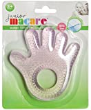 Junior Macare Water Filled Cooling Teether Hand Shape Pink