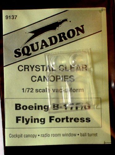 Squadron Products B-17F/G Vacuform Canopy #1