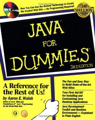 Java For Dummies (For Dummies (Computer/Tech))