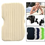 Wolfwill Car SUV Air Bed Mobile Mattress Cold-Proof w/ Welvet Flocking Travel Car Sex Back Seat