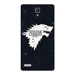 Ajay Enterprises Elite Games Of Wintr Grey Back Case Cover for Redmi Note Prime