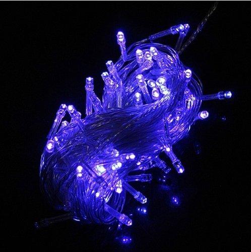 Domire Blue 100 Led 10M String Decoration Light For Festival Christmas Party Wedding 110V