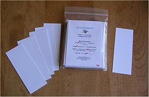 Blank Bookmarks, White Cardstock