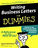 img - for Writing Business Letters For Dummies (For Dummies (Computer/Tech)) book / textbook / text book