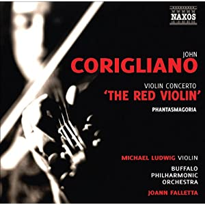 Corigliano: Violin Concerto 'The Red Violin'; Phantasmagoria