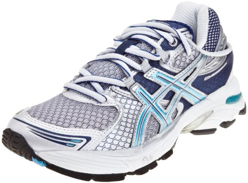 Asics Women's Gel Landreth 6 Running Shoe White/Maui Blue/Navy T0H5N0161 4 UK