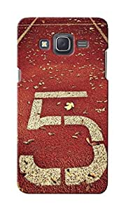 KnapCase Number Five Designer 3D Printed Case Cover For Samsung Galaxy J5