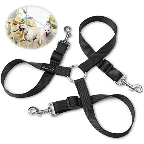3-dog-lead-coupler-petbaba-60-100cm-2-33ft-long-adjustable-nylon-training-lead-for-3-dogs-black-l