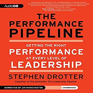 The Performance Pipeline: Getting the Right Performance at Every Level of Leadership | [Stephen Drotter]