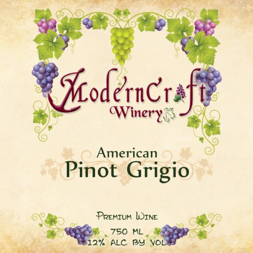 Nv Modern Craft Winery Pinot Grigio 750 Ml