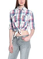 Superdry Camisa Mujer (Multicolor)