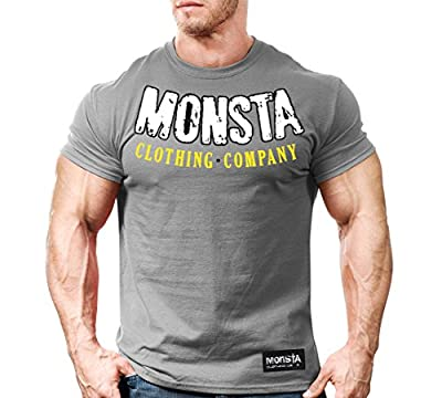Monsta Clothing Co. Men's Barbaric Strength (TEE209) T-shirt