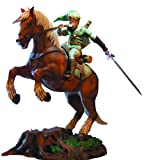 First 4 Figures The Legend Of Zelda: Twilight Princess: Link On Epona Statue