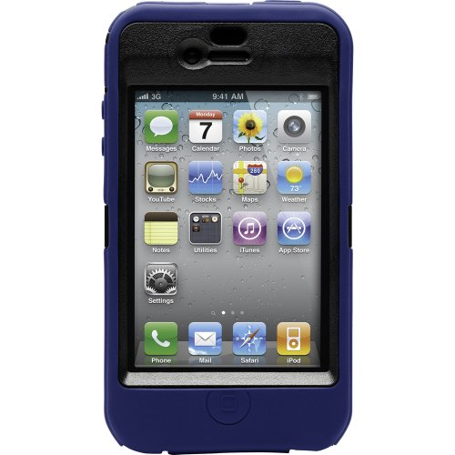 OtterBox Defender Case iPhone 4 (Blue/Black, Fits AT&T iPhone 4)
