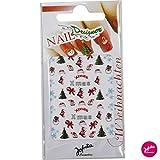 Nagel Sticker mit Weihnachtsmotiv