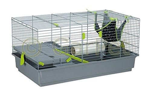 Chinchillakfig-Rattenkfig-Degukfig-Chinchilla-Degu-Ratte-Frettchen-Kfig-90cm