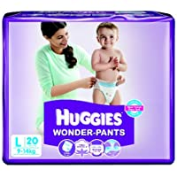 Huggies Wonder Pants Large Size Diapers (20 Count)