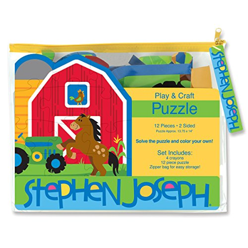 Stephen Joseph Play and Craft Puzzle-Farm - 1