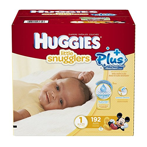 huggies-little-snugglers-plus-taille-1-192-lot