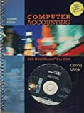 img - for Computer Accounting With Quickbooks Pro 2009 11th edition by Ulmer, Donna (2009) Paperback book / textbook / text book