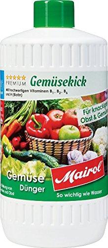 Mairol Gemüse Dünger Gemüsekick (1000 ml)