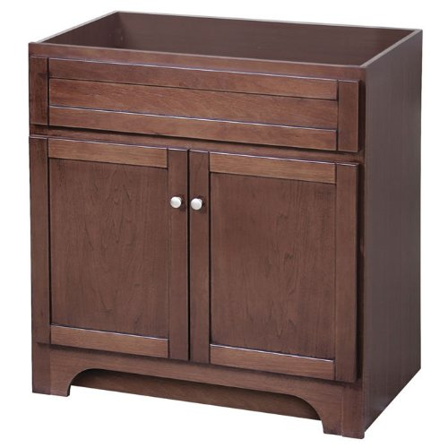 Columbia 30 Inch Cherry Bath Vanity with 2 Doors Coca3021