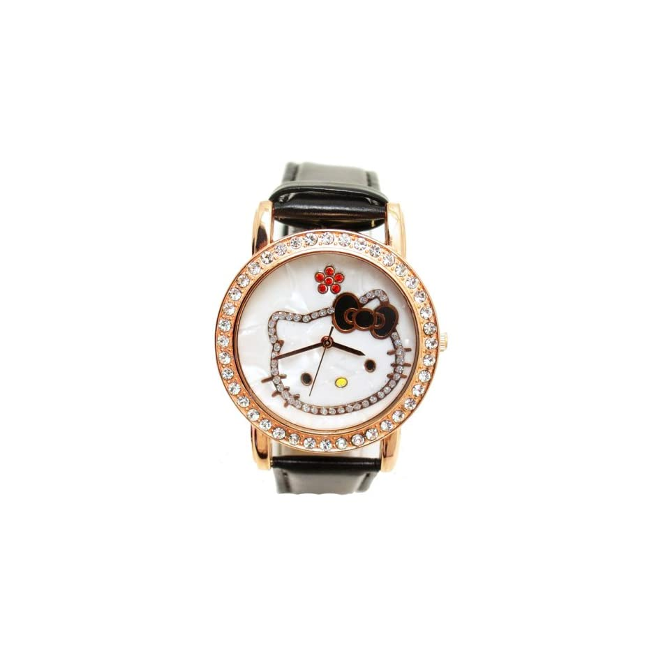 Hello Kitty Crystal WristWatch Wrist Watch NEW