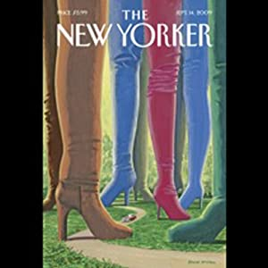 The New Yorker, September 14, 2009 (Dana Goodyear, Alexandra Jacobs, Judith Thurman) Periodical