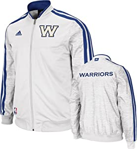 Golden State Warriors Adidas Home Weekday 2012-2013 Authentic On-Court Jacket - White