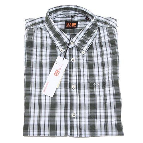 8428 camicia short sleeve SUN68 camicie uomo shirt men [S]