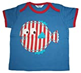 Baby Boys Fish Applique T Shirt Age 0 3 Months