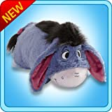 Pillow Pets Authentic Disney 18 Eeyore, Folding Plush Pillow- Large
