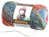 Lion Brand Yarn 825-213 Amazing Yarn, Regatta