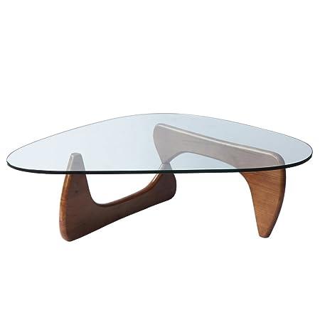 Fine Mod Tribeca Coffee Table, Mid Walnut