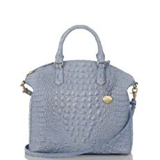Large Duxbury Satchel<br>Melbourne Chambray
