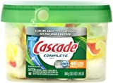 Cascade Complete All-In-One Actionpacs Dishwasher Detergent, Citrus Breeze Scent 48 Count