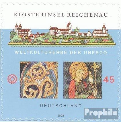 BRD (BR.Deutschland) 2642 (kompl.Ausg.) selbstklebende Ausgabe postfrisch 2008 Kulturerbe (Briefmarken für Sammler)