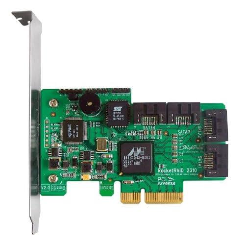 HighPoint-RocketRAID-2310-4-Channel-PCI-Express-x4-SATA-3Gb-s-RAID-Controller