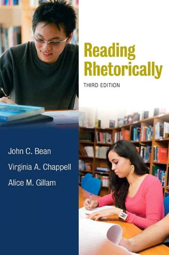 Reading Rhetorically, 3rd Edition