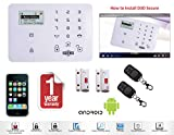 D3D Model D9 With 2 Door Sensor + 2 Remote Touch Screen Smart phone iOS/ Android Mobile apps Wireless Sensor Security System