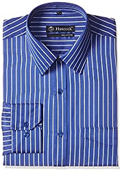 Hancock Men's Formal Shirt (926Blue_42)