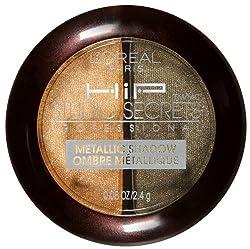 Loreal Hip Studio Secrets Professional Metallic Shadow, Shocked 310, 2 Ea