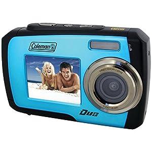 Coleman Duo 14 Megapixel Waterproof Digital Camera with Dual LCD Screen