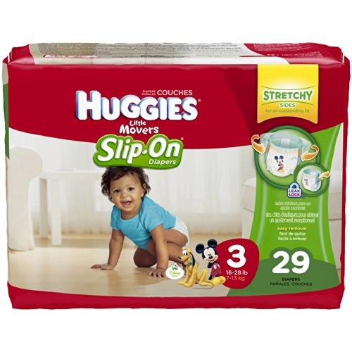 Huggies Diaper Pants, Size 3 (16-28 lb), Disney Baby, Jumbo, 29 ct (Pack of 4) - 1