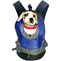 Dog Carrier Head Out,C&D Pet Front Carrier Soft Sided Dog Carrier Backpack Cat Travel Carrier For Small Dogs (...