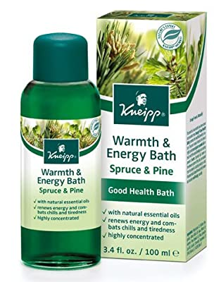 Kneipp Warmth & Energy Bath Spruce & Pine, 3.4 Fl Oz