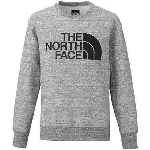 ザ・ノース・フェイス(THE NORTH FACE) WR スウェット クルー(WR Sweat Crew) NT61508 Z ミックスグレー M