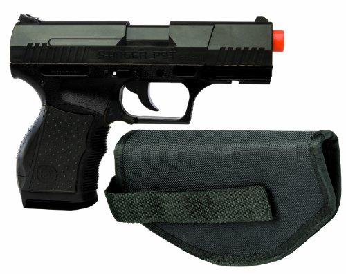 Crosman Stinger P9T Black AirSoft Pistol with Holster