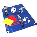 Identity London Football Design Blue Dial Boys Watch and Sports Kit 927/7432